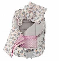 Baby Lounger Baby Nest Pod Cocoon Sleeping Bassinet Soft Cotton Cosleepi... - $118.06