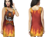 Firefighter bodycon dress for women thumb155 crop