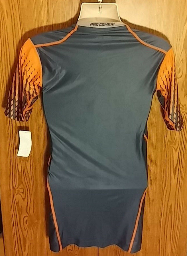 Nike Pro Combat Shirt Compression Mens Large Dri-Fit Fitted