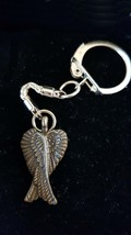 wings copper with chainmail keyring  metal keychain keyring  gift boxed