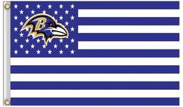 NFL Baltimore Ravens Stars & Stripes 3'x5' Indoor/Outdoor Team Nation Fl... - $9.99