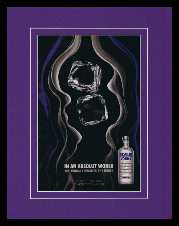 Primary image for 2008 Absolut Vodka 11x14 Framed ORIGINAL Vintage Advertisement