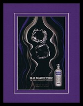 2008 Absolut Vodka 11x14 Framed ORIGINAL Vintage Advertisement  - $32.36