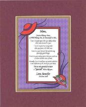Personalized Touching and Heartfelt Poem for Mothers - Mom, You've Alway... - $22.72