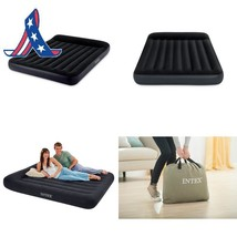 Intex Pillow Rest Classic Airbed With Built-In Pillow And Electric Pump,... - ₨3,435.61 INR