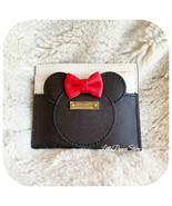 NWT KATE SPADE LEATHER MINNIE MOUSE KSNY X MINNIE MOUSE CARD CASE - $31.56