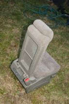 05-10 Honda Odyssey Plus One Center Middle Jump Seat FABRIC / CLOTH - Olive image 8