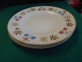 Great Collectible Franciscan Color Seal Dinnerware Set Of 2 Dinner Plates - $8.72