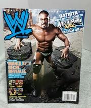 WWE Magazine March 2008 Batista - $11.87