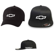 CHEVY Chevrolet FLEXFIT HAT CURVED or FLAT CURVED BILL *FREE SHIPPING in... - $19.99