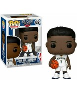 NEW RARE Zion Williamson (New Orleans Pelicans) Funko Pop! Series 3 #62 - $27.44