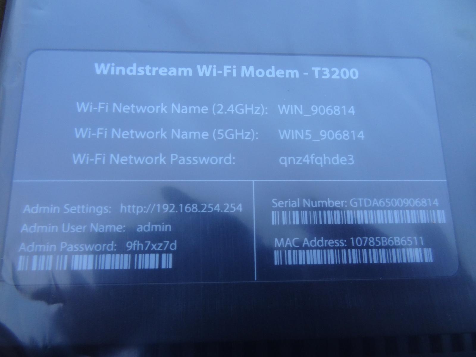 T3200 vpn setup
