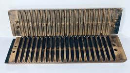 Vtg/Antique Primitive Wooden Cigar Press Mold 2 pc. Fitted 20 Cigar Mold... - $54.40