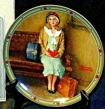"""1985 """"A Young Girl's Dream""""  by Norman Rockwell with Box ( Knowles ) AA2... - $59.95"""