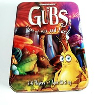 Gamewright Gubs Card Game Collectible Tin Complete Travel Compact 2 - 6 ... - $49.95