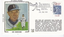 LEO DUROCHER 7th ANNUAL NATL SPORTS COLLECTORS CONVENTION ARLINGTON TX 7... - $2.68