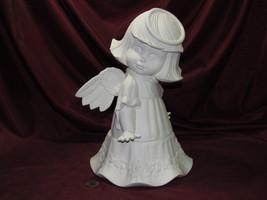 pyop Donas Sweet Tot Angel Hands Down Heart Flowers Base U-Paint Ceramic... - $29.99
