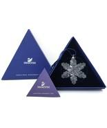 Swarovski Crystal Ornament 2008 Swan Austria with Box Holiday Christmas - $88.00
