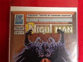 The Night Man #4 (Jan 1994, Malibu) VF Comic Book  - $5.32