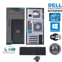 Dell Precision T1700 Computer i5 4570 3.20ghz 8gb 500GB Windows 10 PRO 6... - $237.03