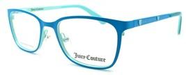Juicy Couture JU930 RNB Girls Eyeglasses Frames 45-16-125 Blue / Green - $62.17