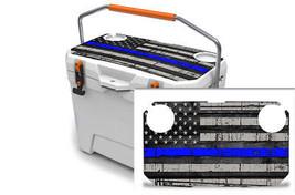 """Ozark Trail Wrap """"Fits 26qt Cooler"""" 24mil Skin Lid Kit USA Blue Line Flag - $29.95"""