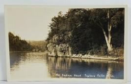 MN RPPC The Indian Head Taylors Falls Minnesota Postcard 019 - $10.95