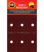 HICO HPT-100 - 1/4 Sheet - 80 Grit - Pre-Punched - 5 Sandpaper Bundle - $7.49