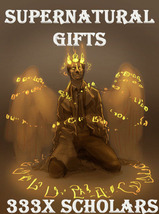 333X 7 SCHOLARS HARNESS SUPERNATURAL GIFTS RAE AND EXTREME MASTER MAGICK  - $555.77