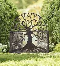 Metal Arched Stand-Alone Garden Gate with Tree of Life Design - $269.95