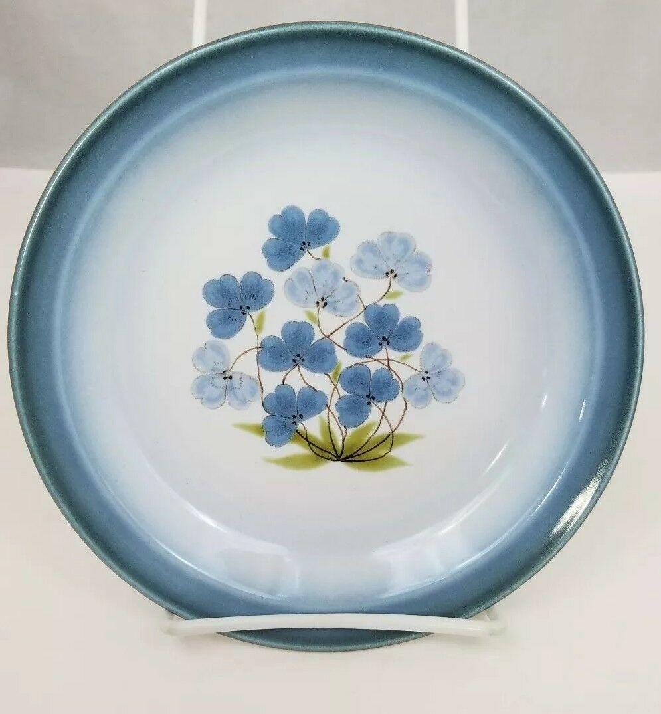 """Nikko Gradiance Bread Plate Set of 4 Azure Leafette Dish Microwave Safe 7.5"""" image 6"""