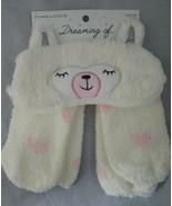 Target Dreaming of... Women's Llama Eyemask & Cozy Socks Set - White One... - $7.92