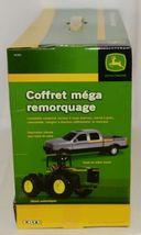 John Deere TBE45368 Mega Hauling Playset Pickup Trailer Skid Steer Tractor Cart image 6