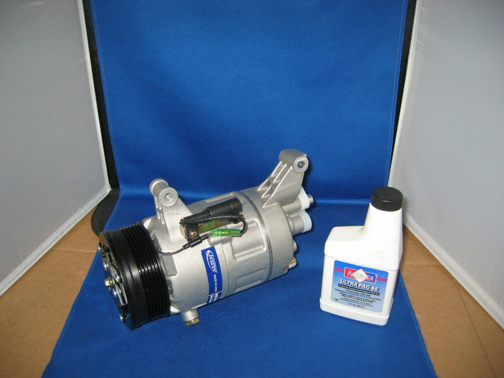 02 06 mini cooper ac compressor  3