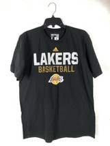 Adidas Lakers Basketball Tee Black L - $16.99