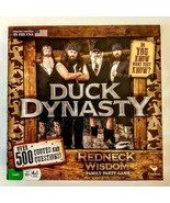 Duck Dynasty Redneck Wisdom Board Game Family Party 500 Question Trivia ... - $9.90