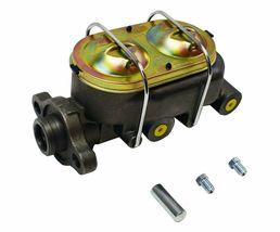 "Cast Iron 1"" Bore Master Cylinder, Corvette Style Universal w/ 4 3/8"" ports image 3"