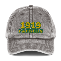 Packers hat / 1919 hat / packers Vintage Cotton Twill Cap image 3