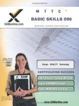 MTTC Basic Skills 96 Teacher Certification Test Prep Study Guide (XAMonline Teac