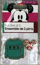 Disney - Mickey Mouse Holiday Sweater 2 Pin Set 2018 Christmas Disney Pin NIP - $7.95