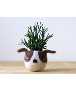Dog lover gift / gift for her / succulent planter /Cactus planter gifts/... - €21,12 EUR