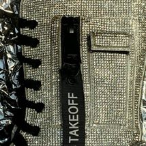 NEW In BOX Billionaire Bling Boot Club Exx Size 7 WOW! SHIIINYYY image 5