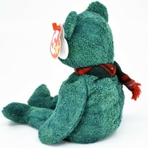 1999 Ty Beanie Baby Original Wallace the Bear Retired Beanbag Plush Toy Doll image 2