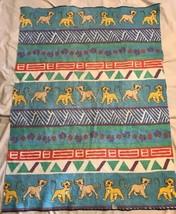"""Rare Vintage Disney The Lion King Simba Fleece? Throw Blanket 43"""" × 58 1... - $59.40"""