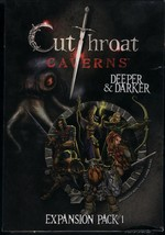 Cutthroat Caverns: Deeper and Darker EXPANSION Pack 1 MIB by Smirk & Dagger - $30.00