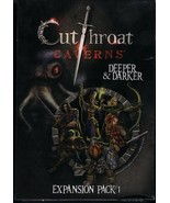 Cutthroat Caverns: Deeper and Darker EXPANSION Pack 1 MIB by Smirk & Dagger - $40.00