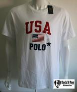 Polo Ralph Lauren Mens USA T-Shirt White NWT Sizes L - XXL NWT Tee - $35.68