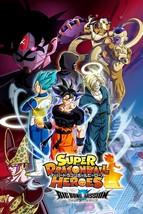 Super Dragon Ball Heroes Big Bang Mission Poster TV Series Art Print Siz... - $10.90+