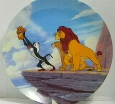 """The Disney Store Limited Edition Lion King Collector Plate 9"""" - $14.95"""