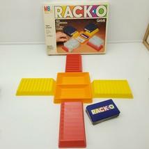 1980 MILTON BRADLEY RACKO RACK-O GAME ITEM #4765 COMPLETE! - $11.88